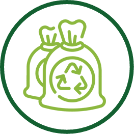 recycle bags icon
